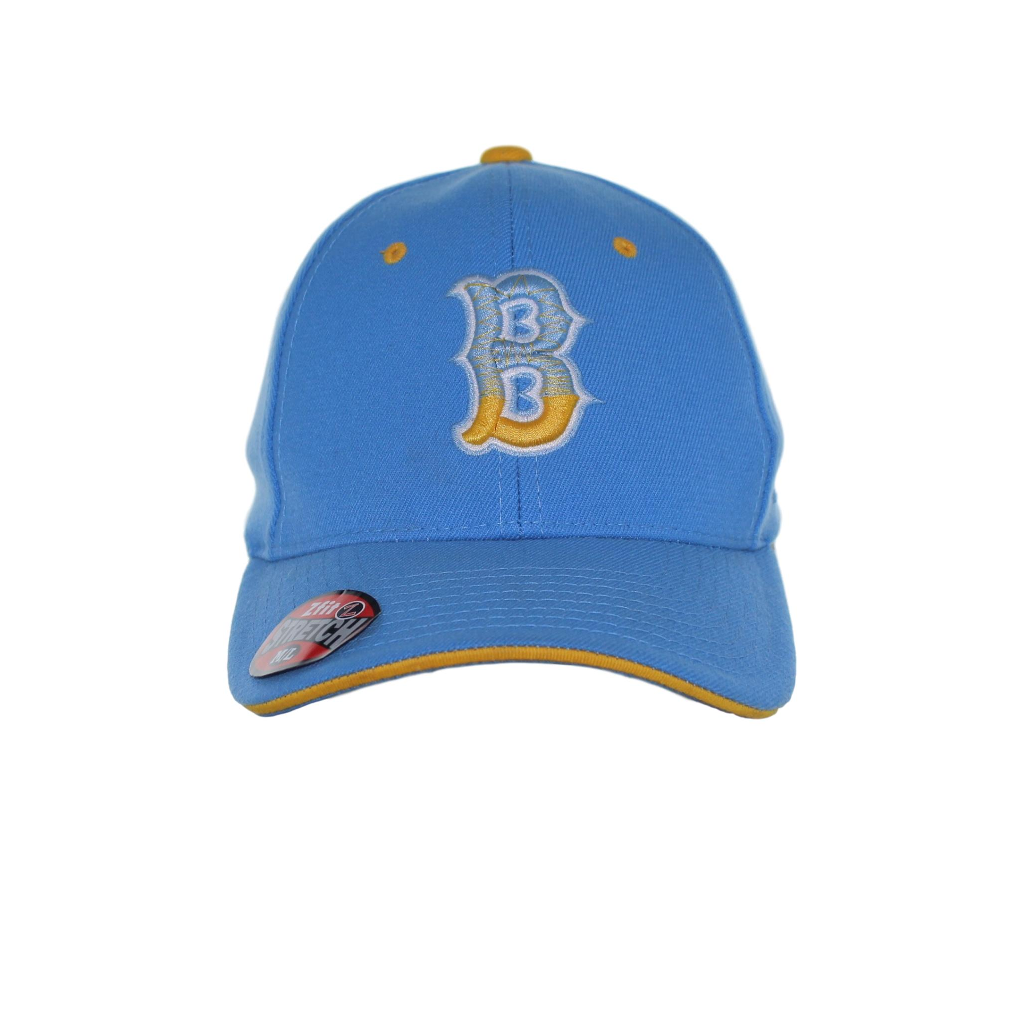 new products 88fca cf1af best price ucla bruins yellow stitch gradient b on blue flex fit hat sel  sportswear de610