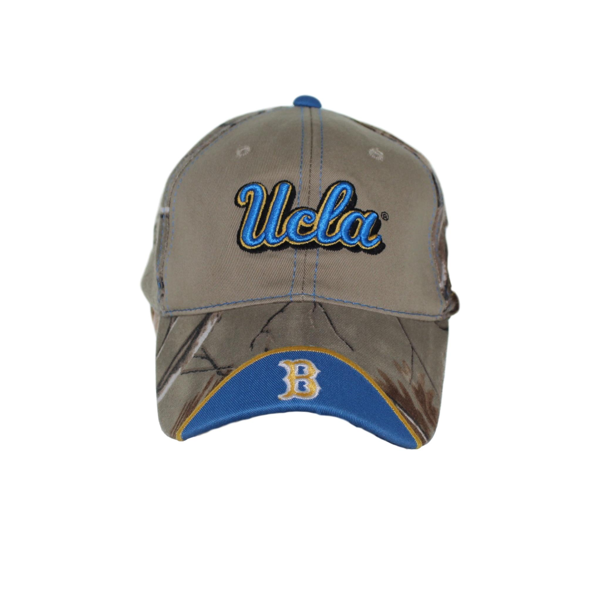 low priced f30c8 9212b ... where to buy ucla bruins blue ucla script on forest camo and khaki  buckle hat cap