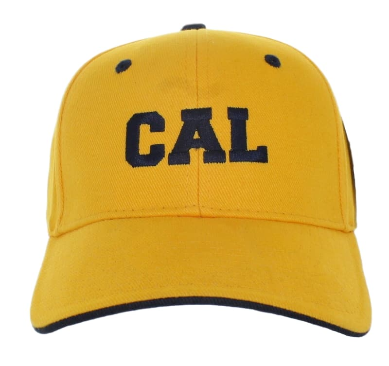 California Golden Bears Navy CAL on Adjustable Yellow Hat – SEL ... f34e6d1ce1b