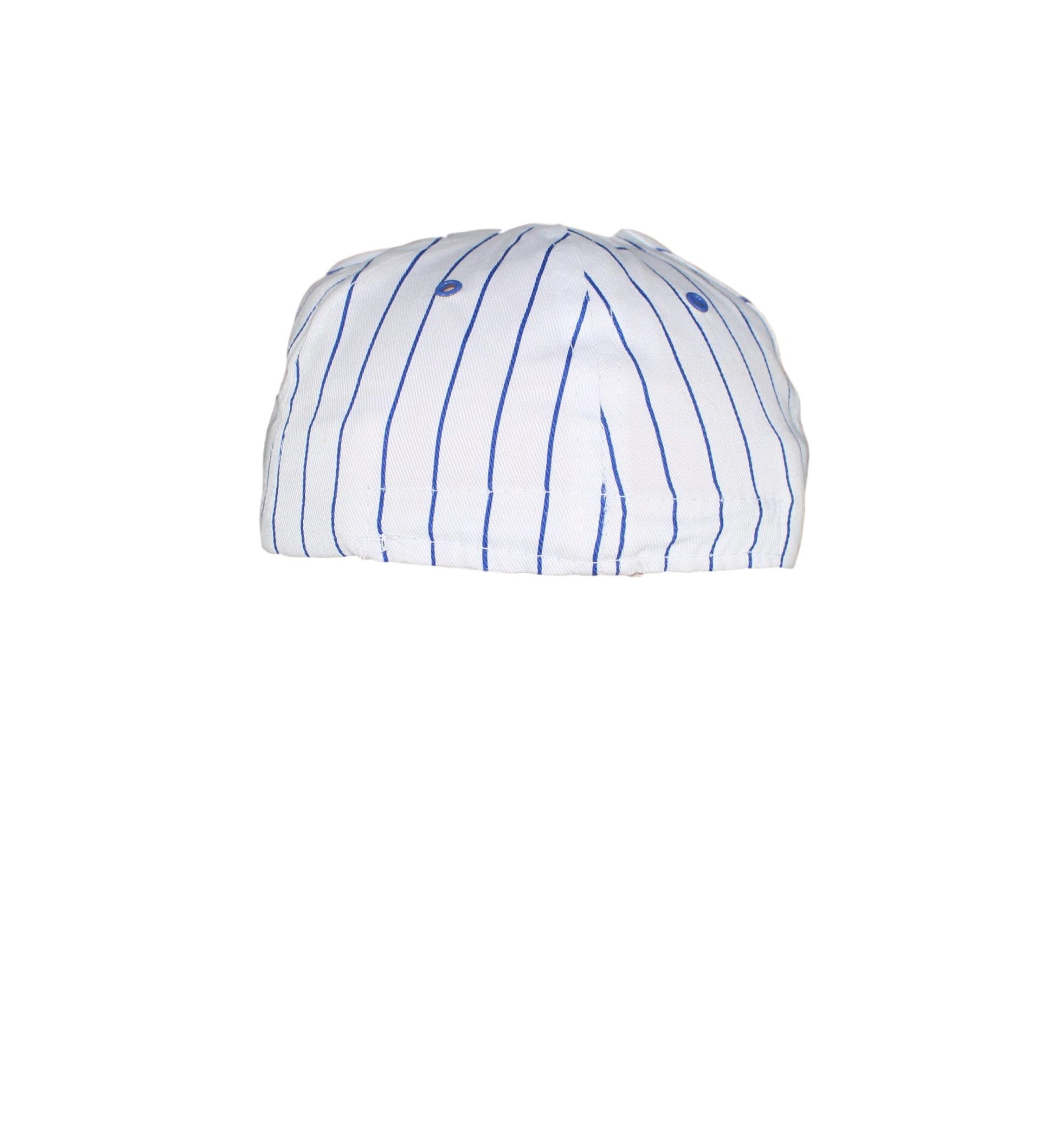 New York Giants Youth Helmet Logo On Blue Striped White