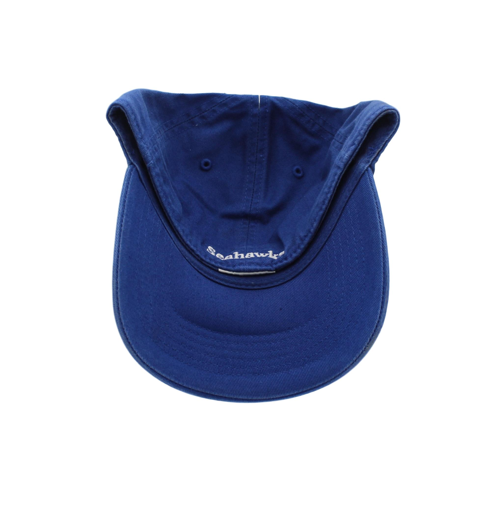 Seattle Seahawks Team Logo On Blue Fitted Hat Sel