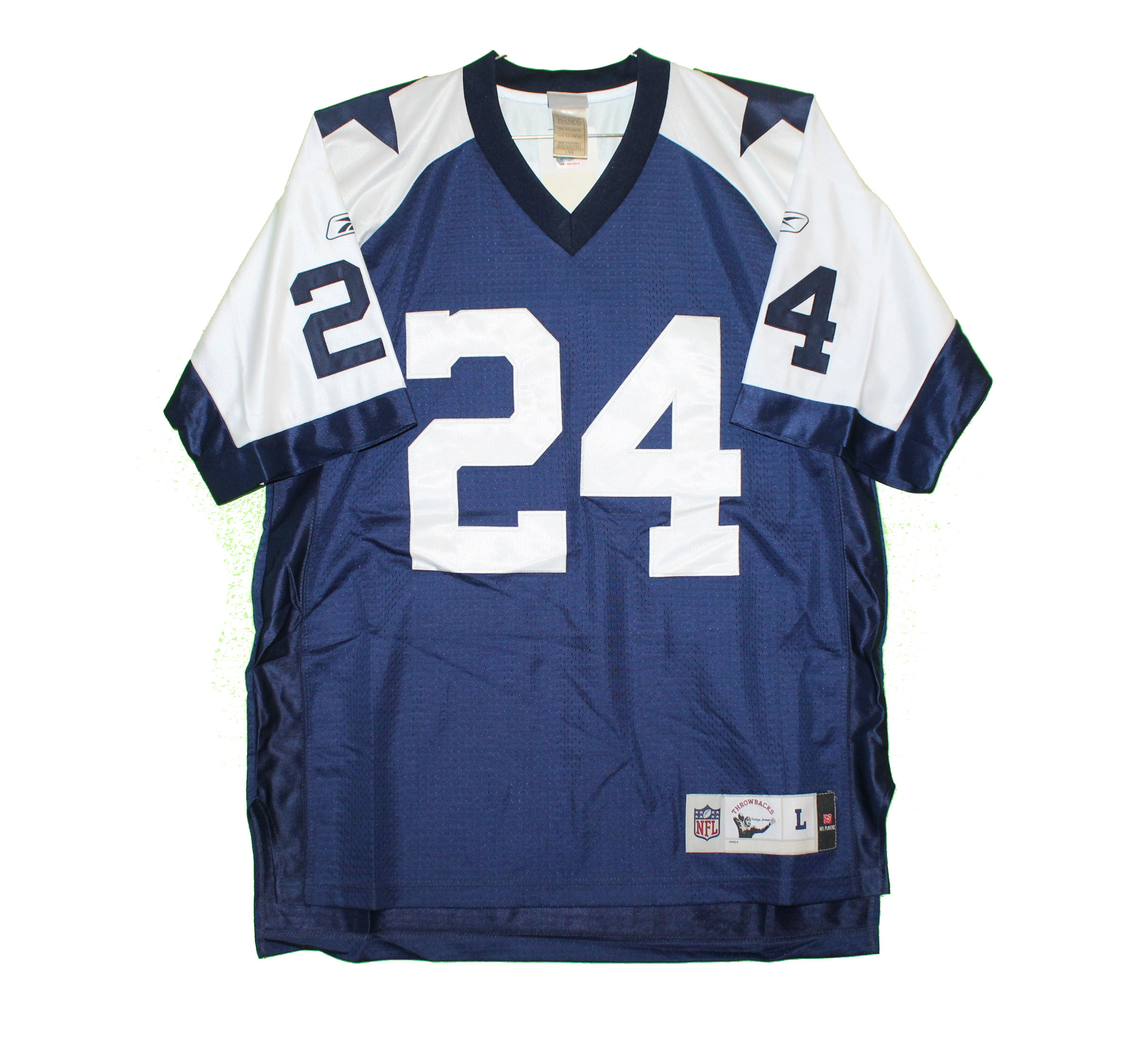 online retailer 8776d c85b1 Dallas Cowboys - Marion Barber #24 Two-Tone Vintage Throwback Jersey