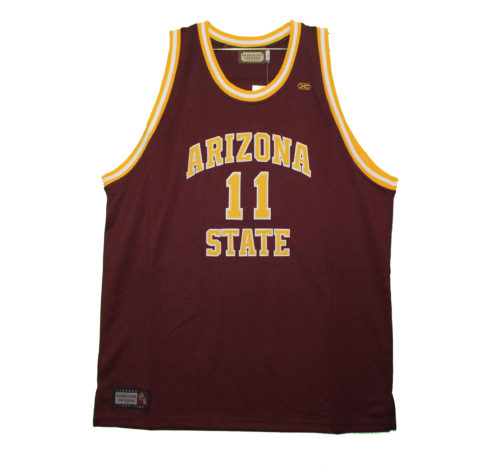a1cd175f Arizona State Sun Devils – Embroidered Maroon Scott Vintage Throwback Jersey