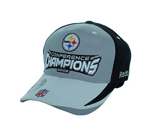 Pittsburgh Steelers 2008 Conference Champion Adjustable Back Embroidered Hat 171a313a6