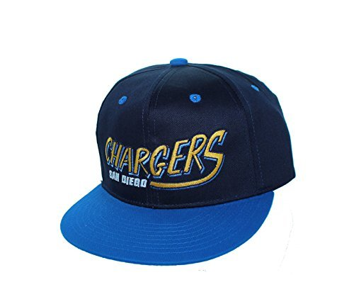 San Diego Chargers Caps: San Diego Chargers Adjustable Snap Back Hat Flatbill